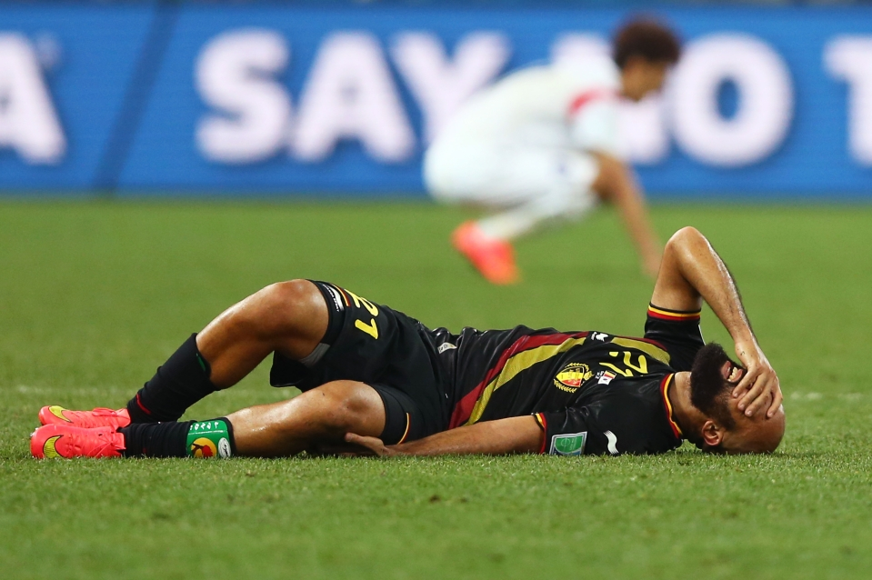 A freak injury ended his World Cup hopes