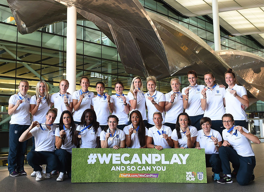 The Lionesses returned home to a hero's welcome after their efforts in 2015