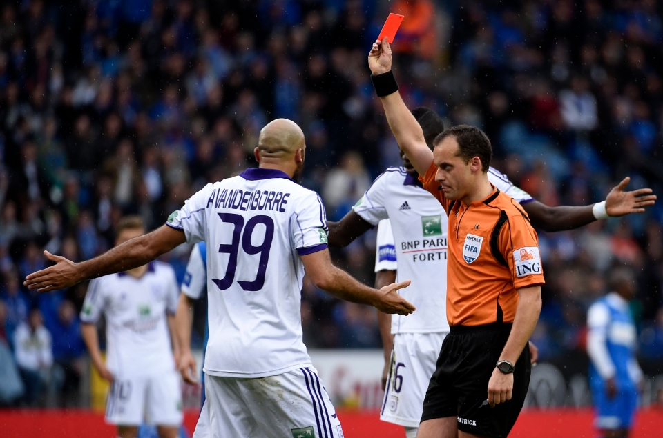 Vanden Borre was never far from disciplinary problems