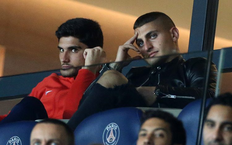 How Guedes spent most match days at PSG