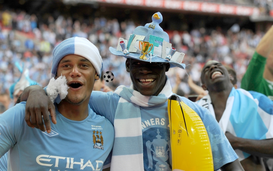 Kompany was front and centre during City's early success