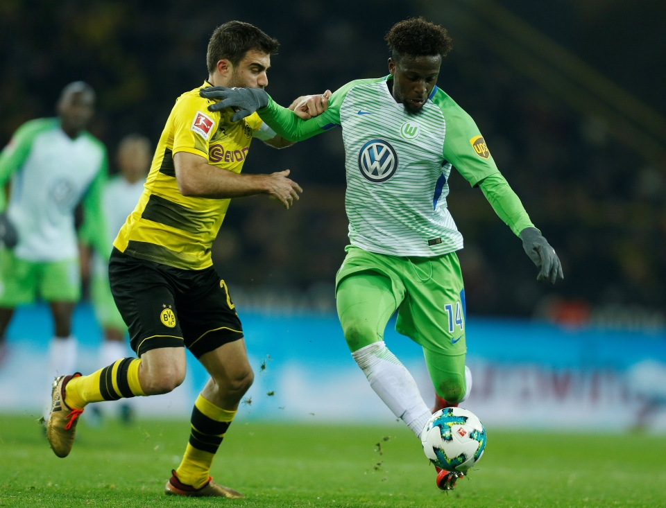 An uneventful spell in Germany with Wolfsburg