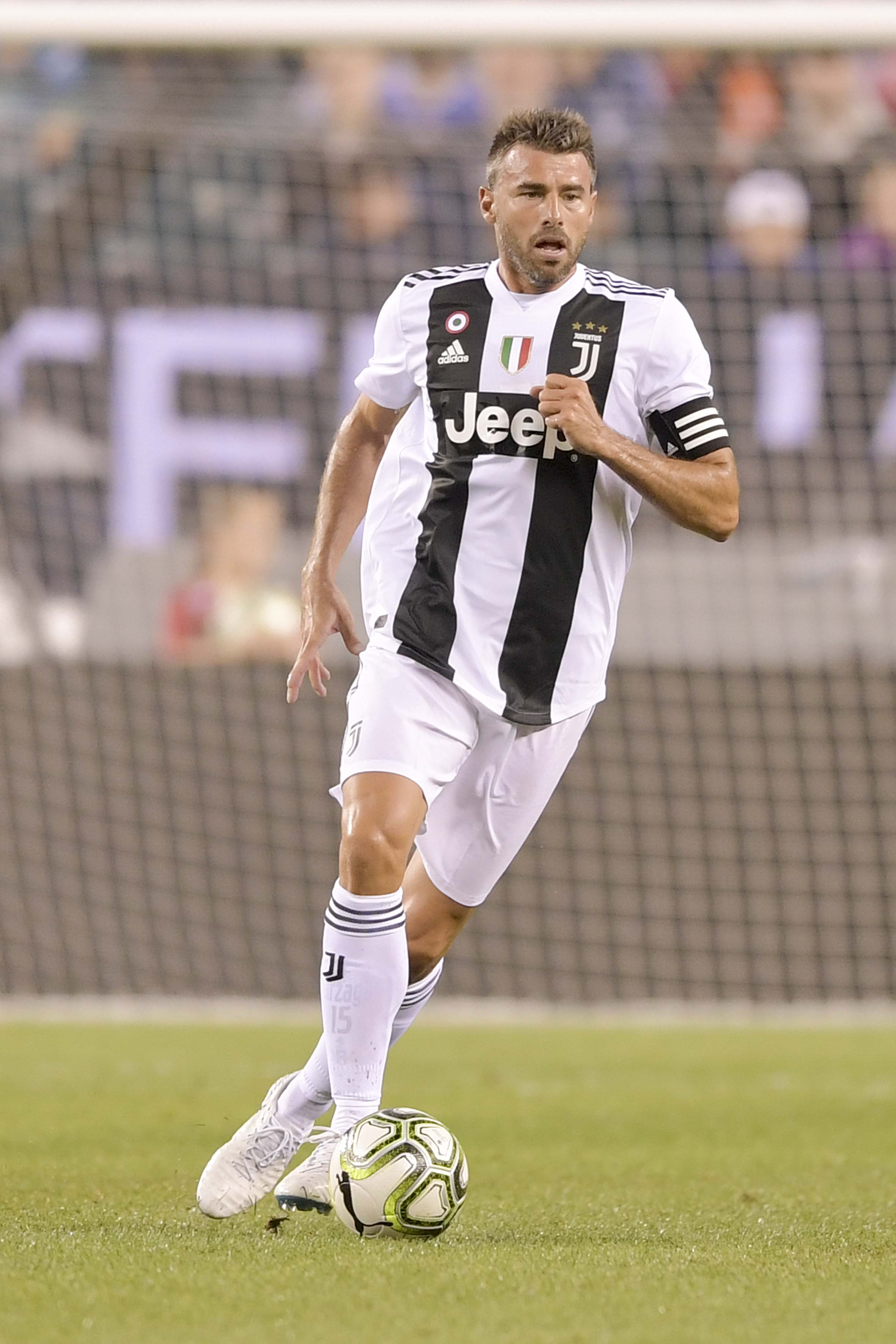 One of the B's in Juve's 'BBC' back-line is hanging up his boots