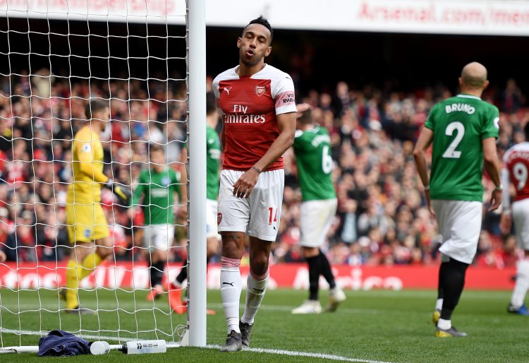 It was not a happy April for Arsenal