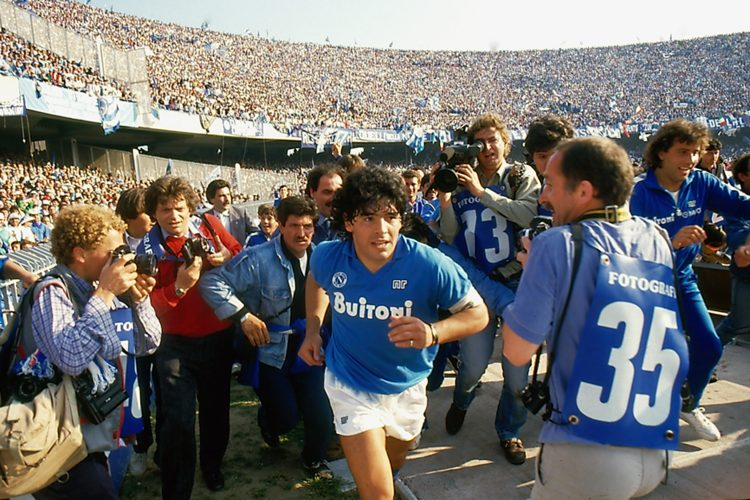 He was adored by the Stadio San Paolo