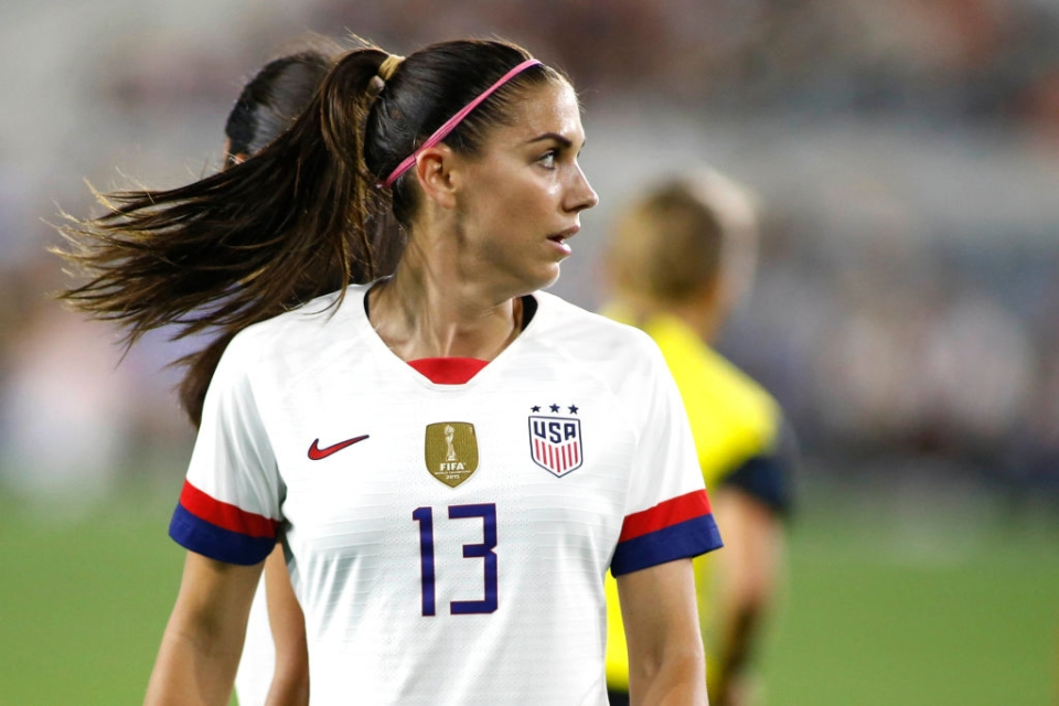 Alex Morgan is the poster girl of women's football