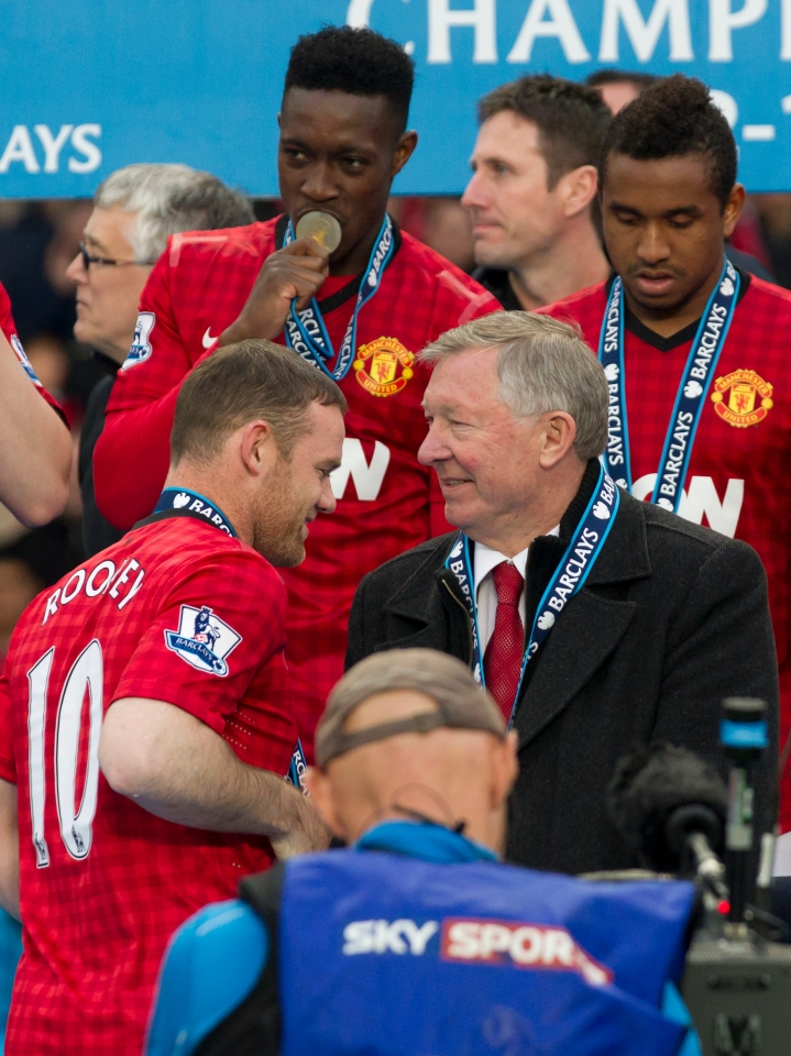 Rooney stayed and enjoyed further success