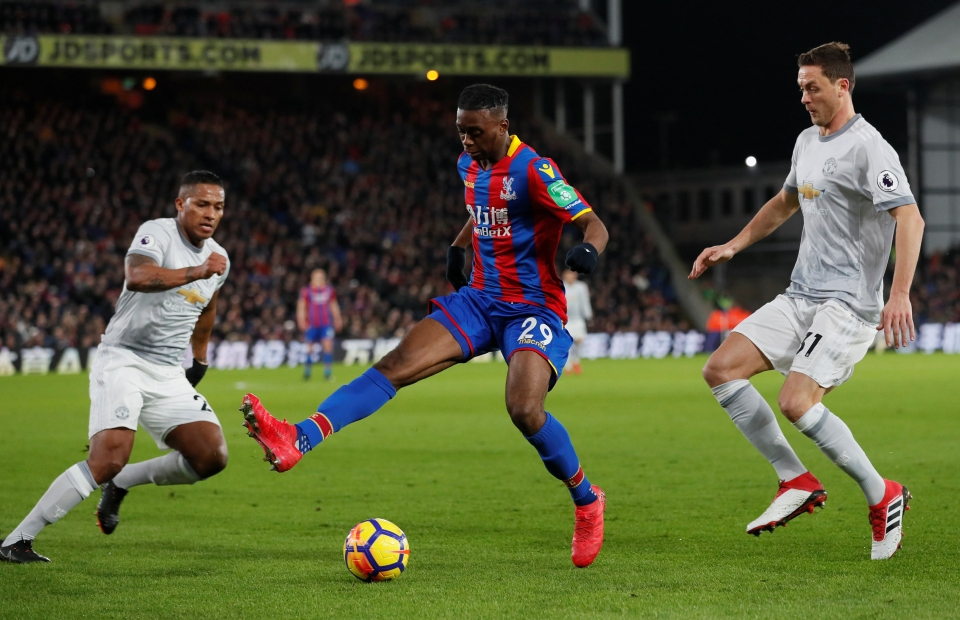 Moments before Nemanja Matic was ended by an AWB nutmeg
