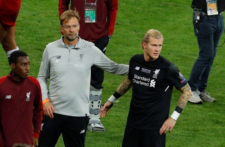 Loris Karius denied Klopp last season