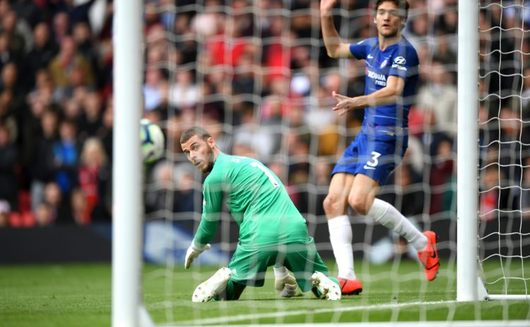 De Gea gifted Marcos Alonso a goal at Old Trafford