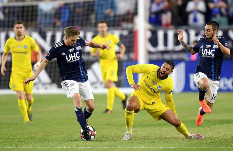 Loftus-Cheek injured himself during an end of season friendly in the USA