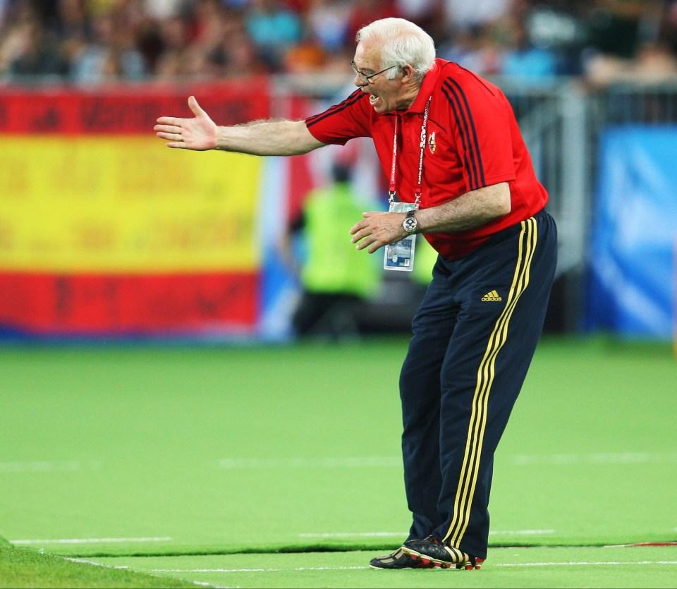 Aragones tinkers as Italy frustrate Spain