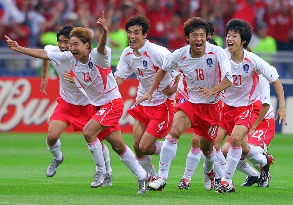Casillas, Puyol and Xavi suffered penalty heartbreak against South Korea in 2002
