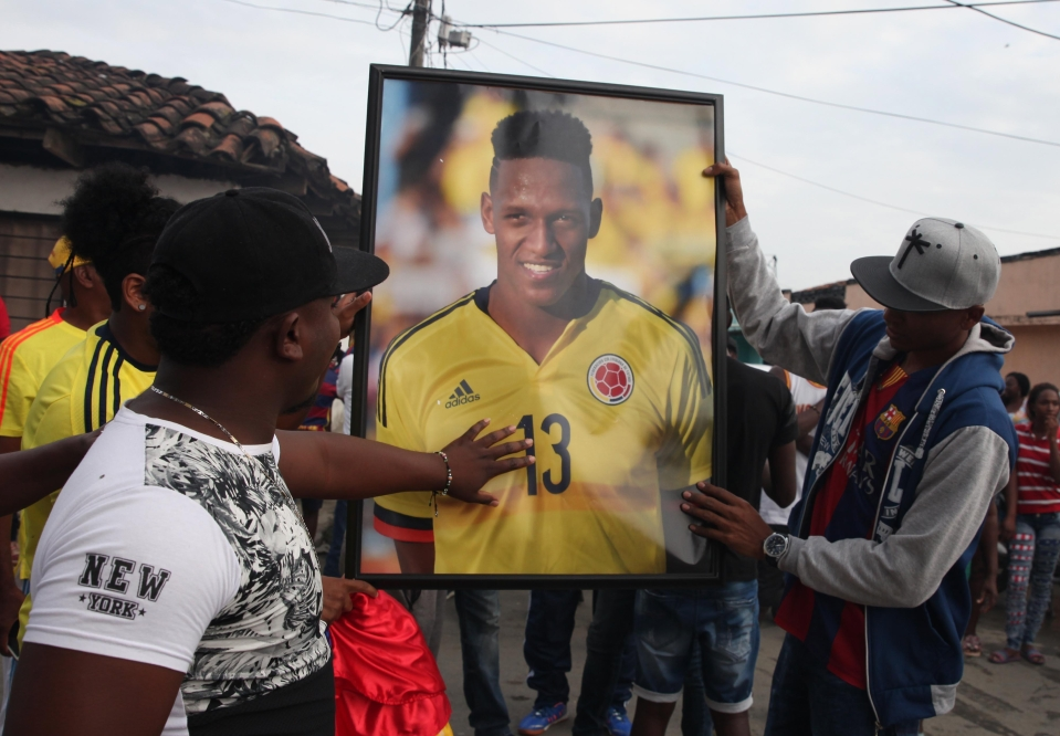 He remains idolised in his native Colombia