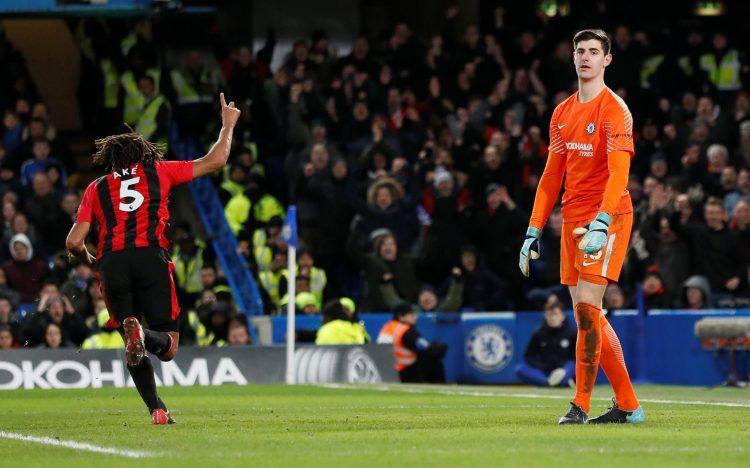 Ake scored on his return to Stamford Bridge