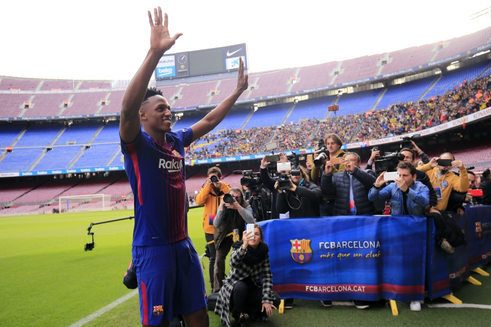 We all remember his bare-footed entrance to the Nou Camp pitch