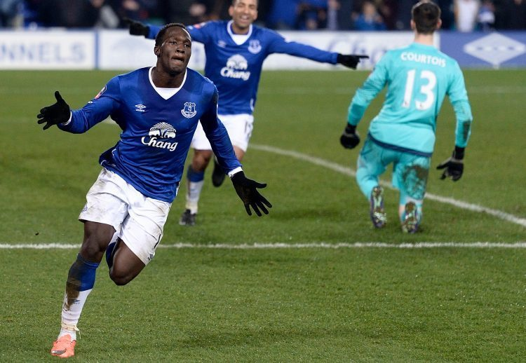 Lukaku knocked Chelsea out of the FA Cup as an Evertonian