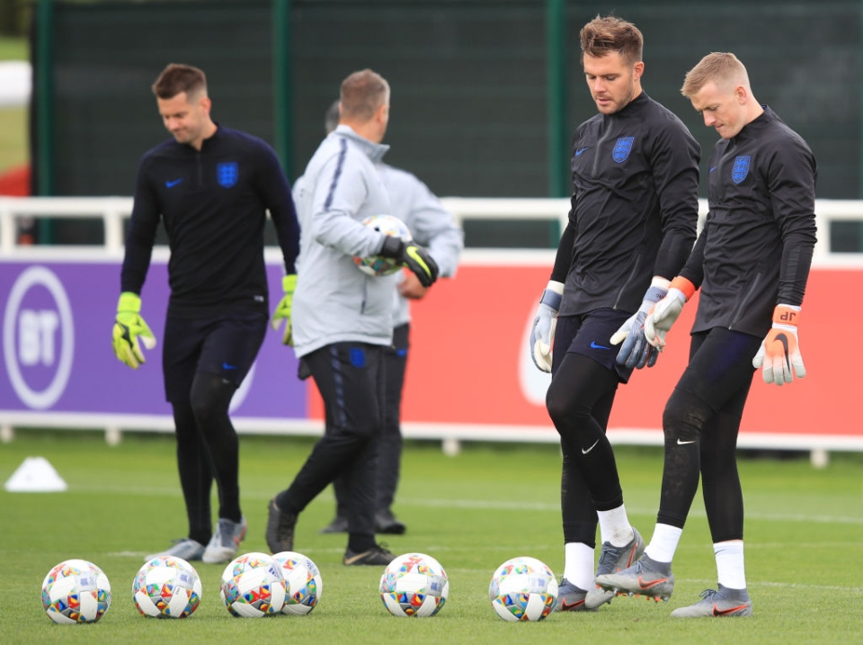 Butland could have been Pickford and Pickford could have been Butland