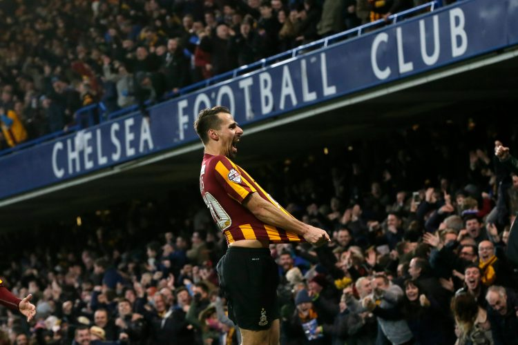 Bradford's most famous recent victory came at Stamford Bridge, where they won 4-2 against Chelsea