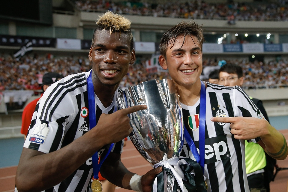 Pogba and Dybala are good mates to this day