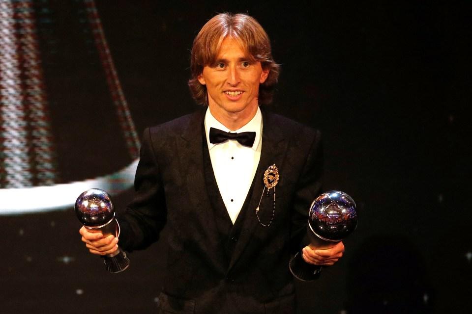 Luka Modric won last year's award