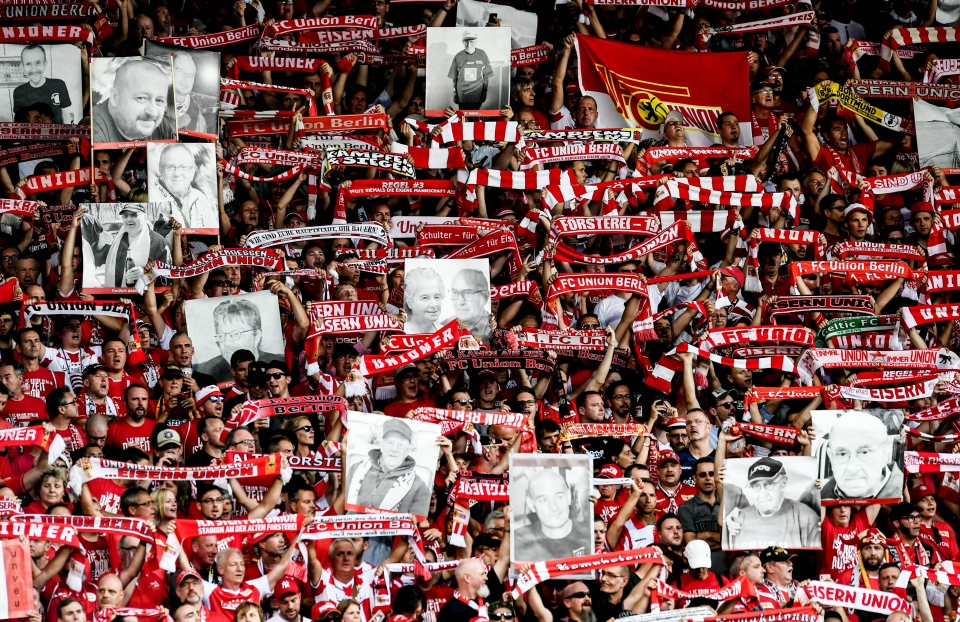 Union Berlin fans went IN on their first weekend