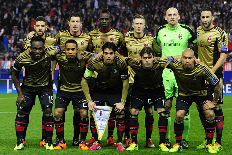 AC Milan meets The Premier League Years