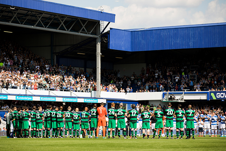 The Game 4 Grenfell took place at Loftus Road in September