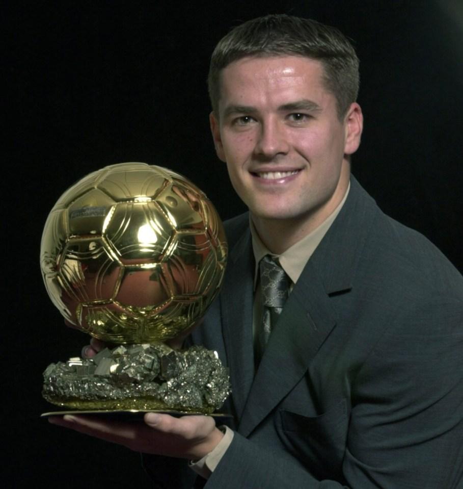 The last Englishman to win the Ballon d'Or
