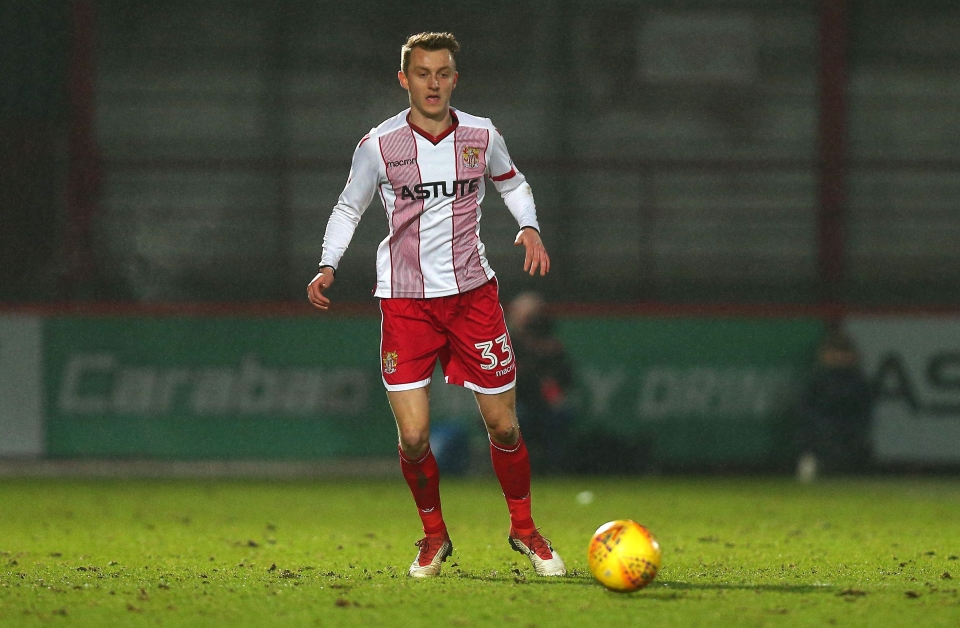 19-year-old Wilmot made 15 appearances for Stevenage before joining Watford last year