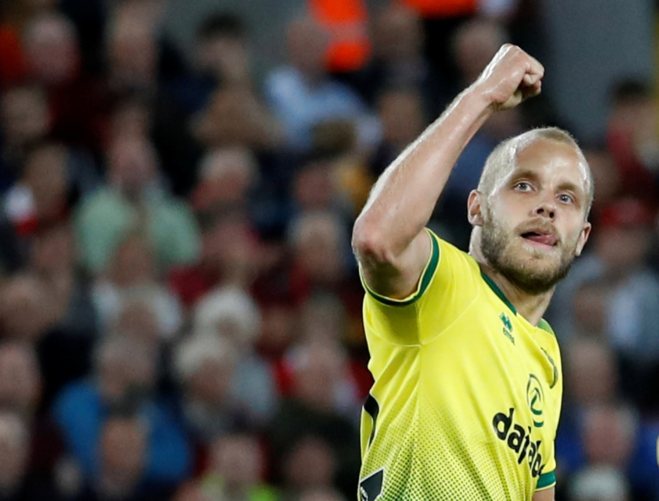 Pukki has taken his goalscoring form from the Championship into the Premier League