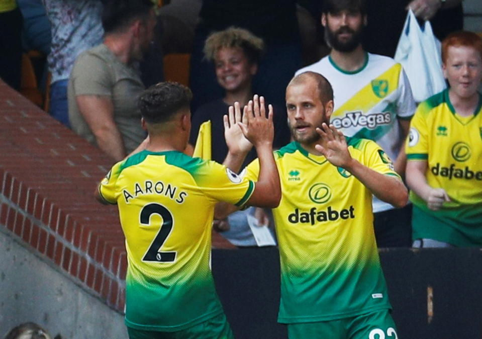 Pukki tops the points charts