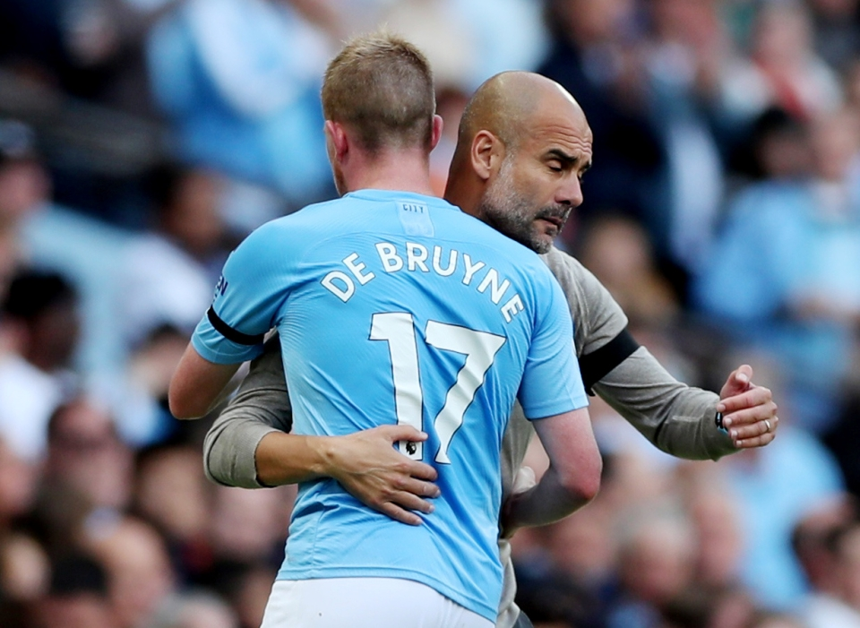 City are better with De Bruyne but they're still bloody good without him