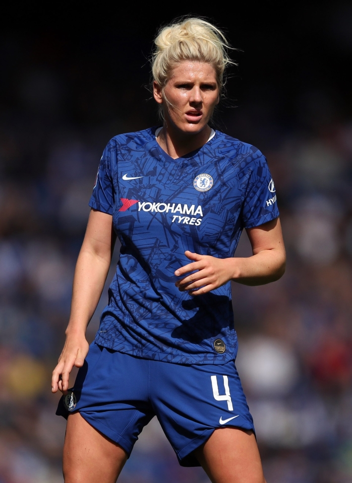 England's Millie Bright played well at the heart of Chelsea's defence