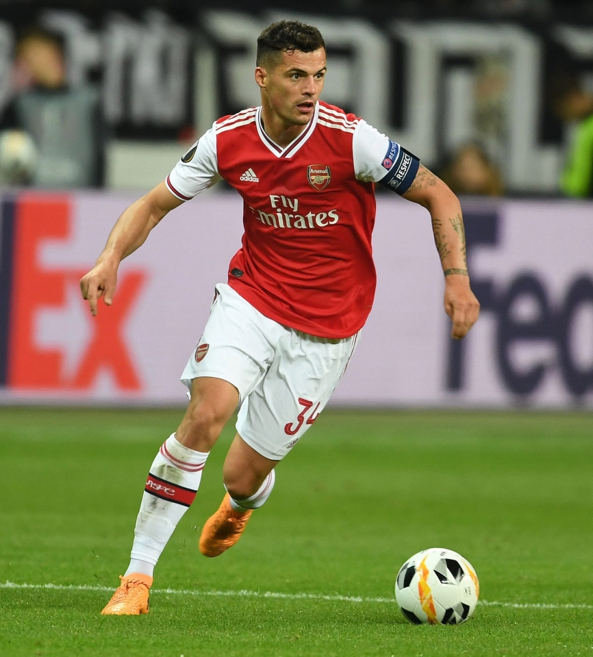 Xhaka is expected to be one of Emery's five captains