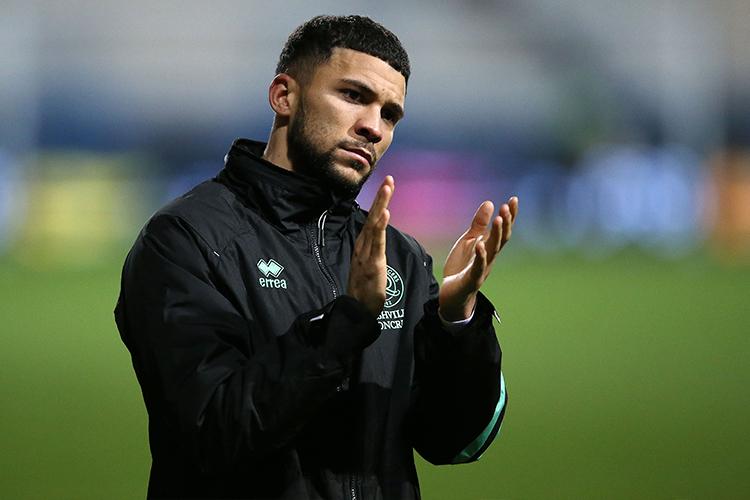 Nahki Wells arrived on loan from Burnley