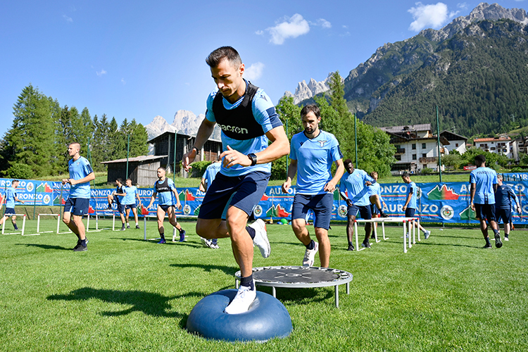 A typically maverick training environment for Europe's most creative centre-back
