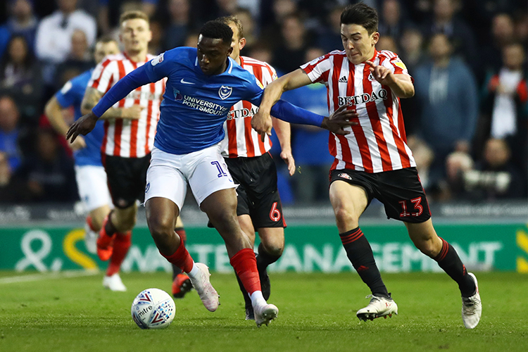 Solomon-Otabor spent the second half of last season on loan at Portsmouth