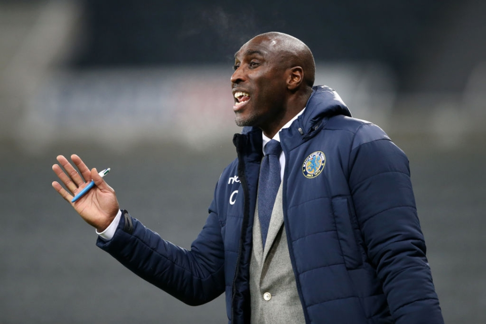 Against all the odds Campbell kept Macclesfield in the Football League