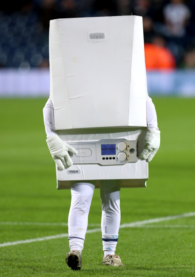 Obligatory mention of the boiler mascot