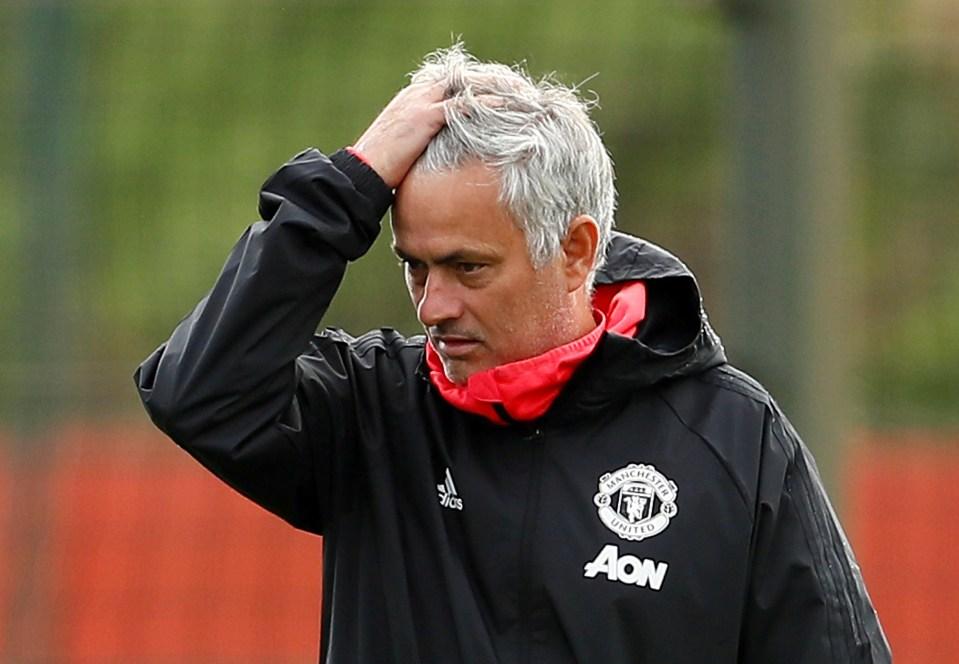 Mourinho failed to turn things around at United