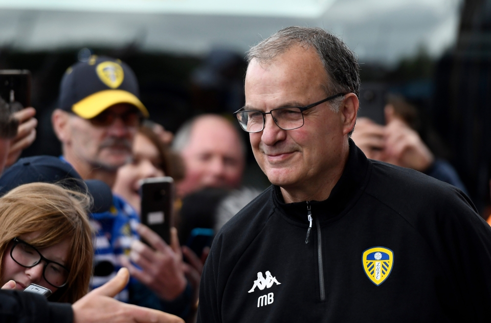 Many Leeds fans refer to Bielsa as 'God'