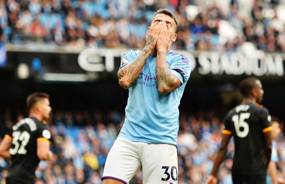 Otamendi has already made two high profile errors this season