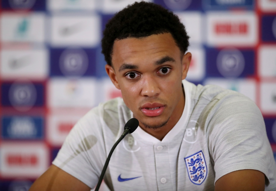 Alexander-Arnold has to play to add more creativity