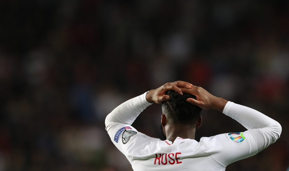 Rose is struggling for club and country