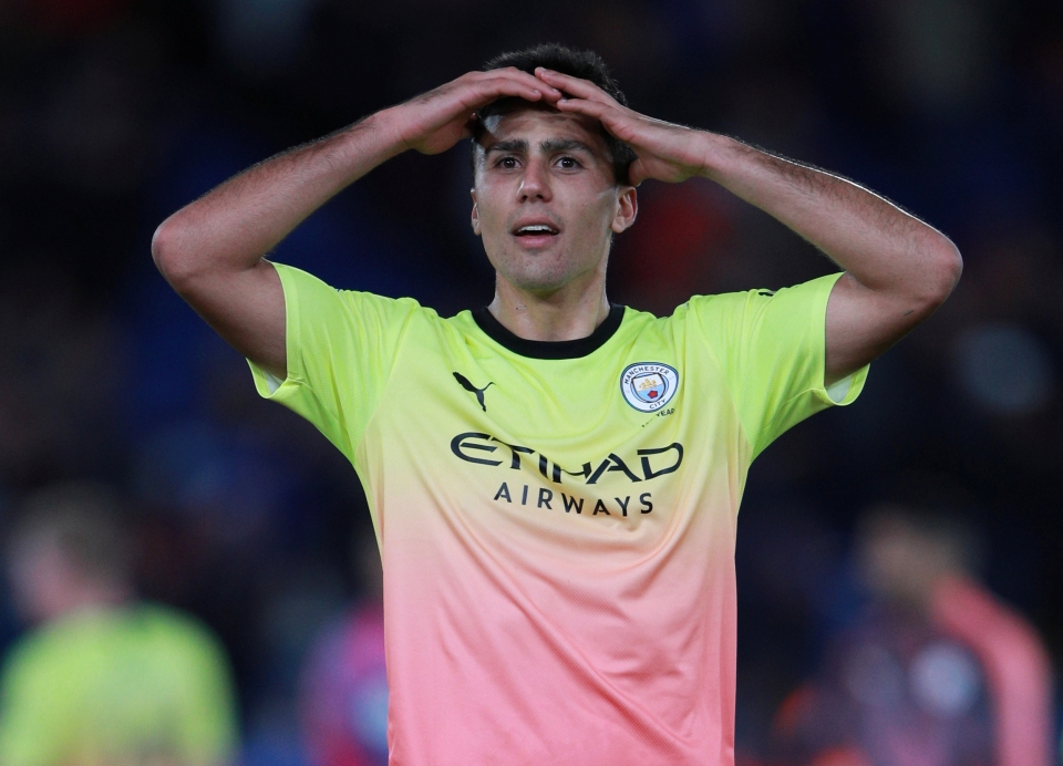 Rodri had never played centre-back before