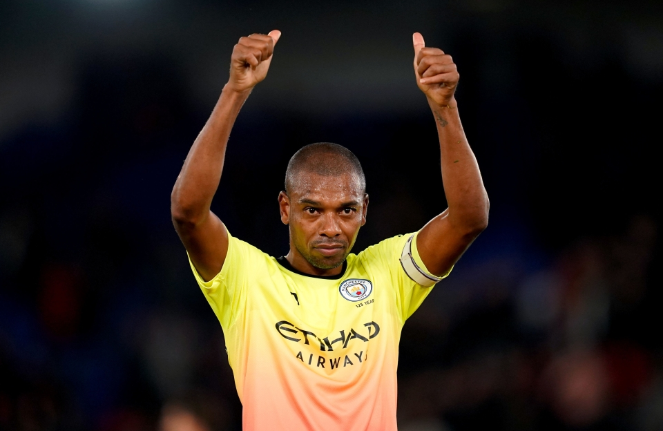 Fernandinho has all the credentials to slot in at centre-back