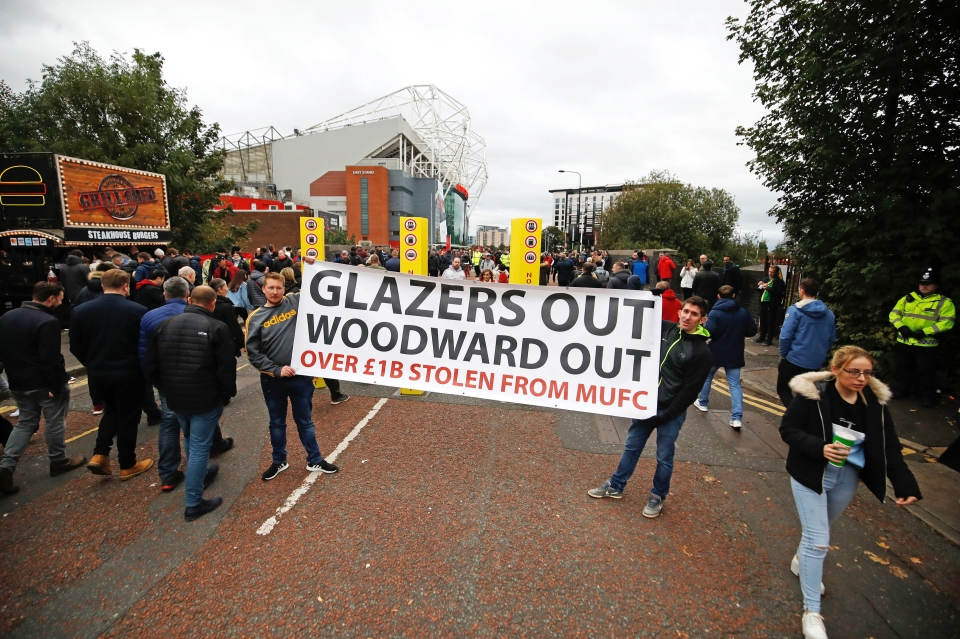 A protest against the Glazers is nothing new