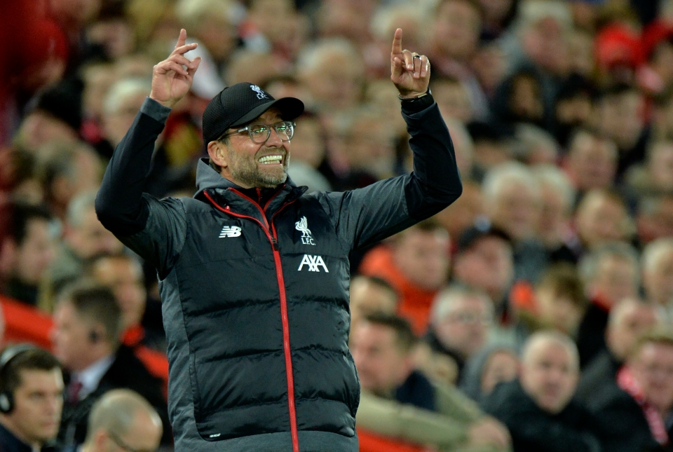 Liverpool play six times in November