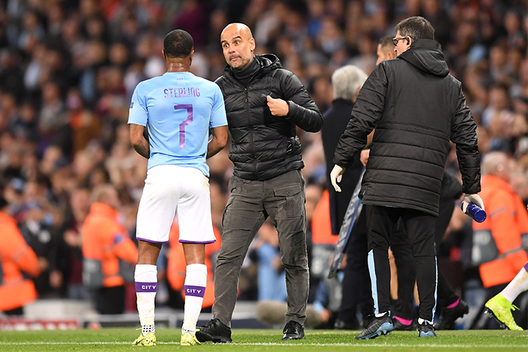 No need to throw punches, Pep